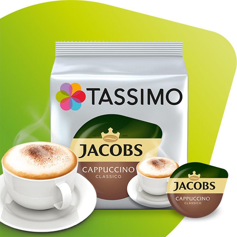 Kapsułki Tassimo Jacobs Cappucino Classico