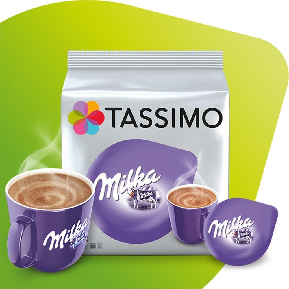 Opakowanie Tassimo Milka z kubkiem i kapsułką