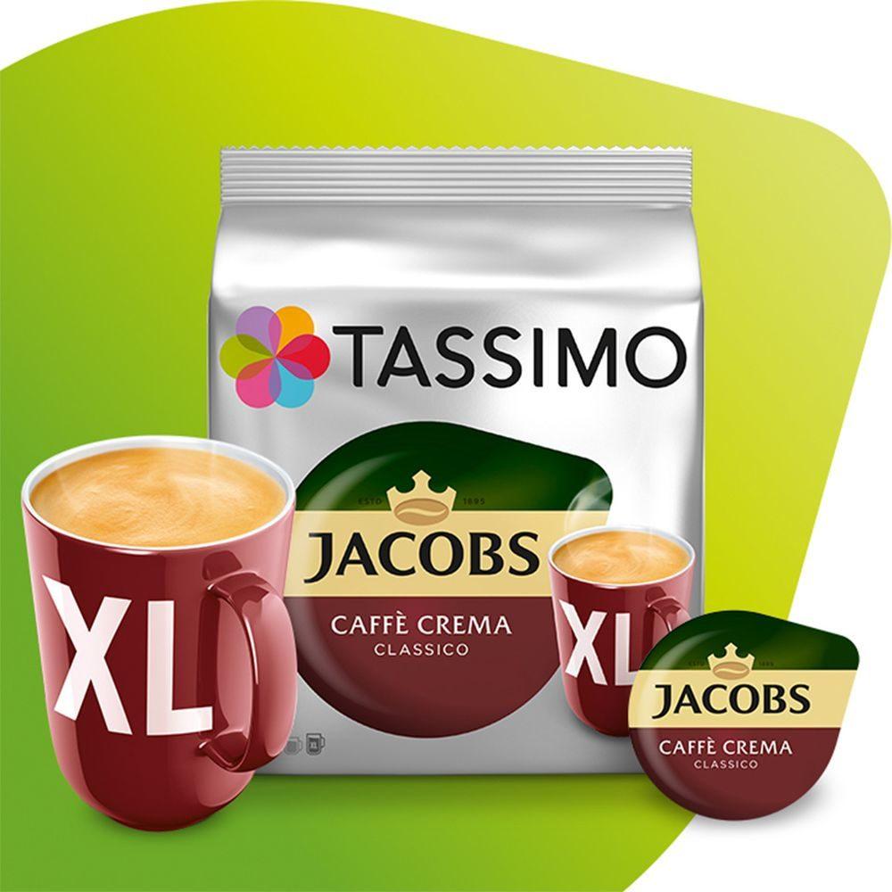 Kapsułki Tassimo Jacobs Cafe Crema XL