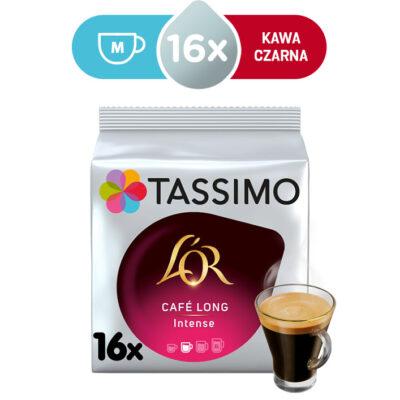 Kapsułki Tassimo L'OR Café Long Intense 16 kaw czarnych, rozmiar M