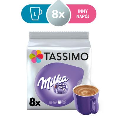 Kapsułki Tassimo Milka 8 napojów czekoladowych, rozmiar L
