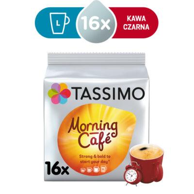 Kapsułki Tassimo Jacobs Morning Café 16 kaw czarnych, rozmiar L