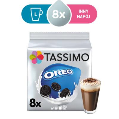 Kapsułki Tassimo Oreo 8 napojów czekoladowych, rozmiar L