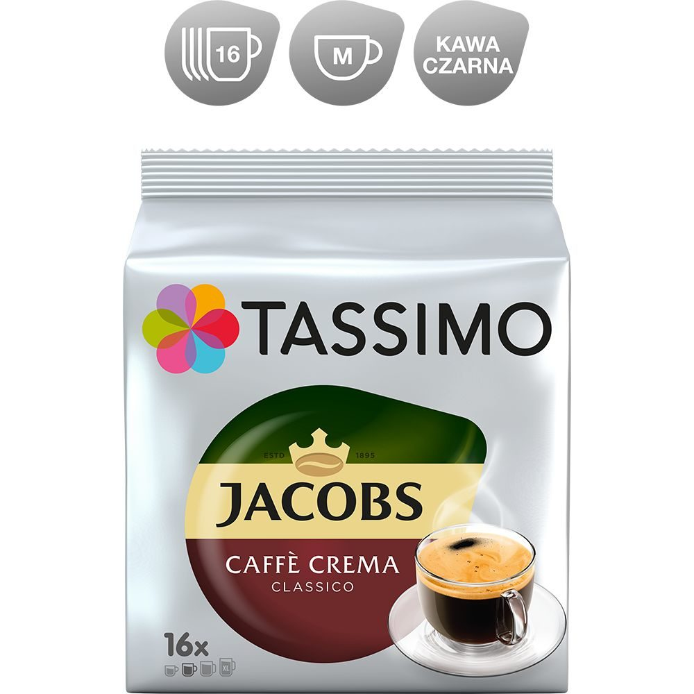 Kapsułki Tassimo Jacobs Caffe Crema Classico