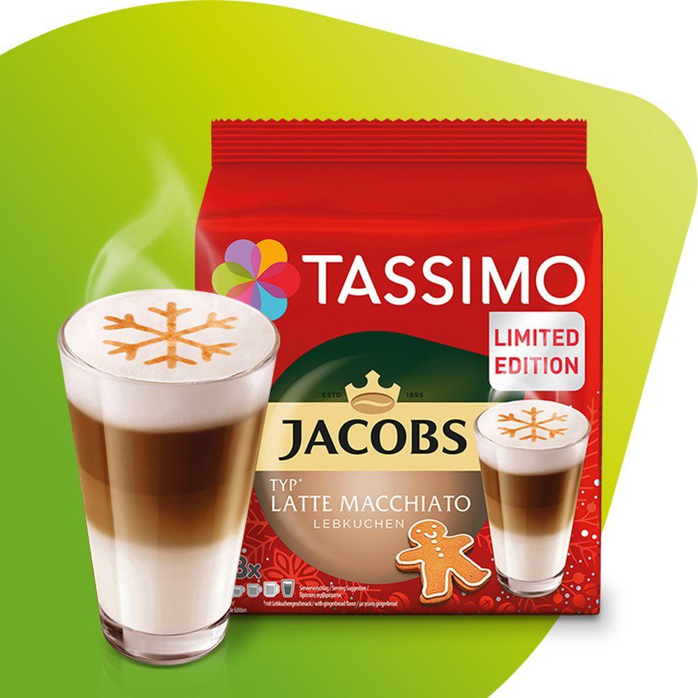 Kapsułki Tassimo Jacobs Latte Macchiato Gingerbread