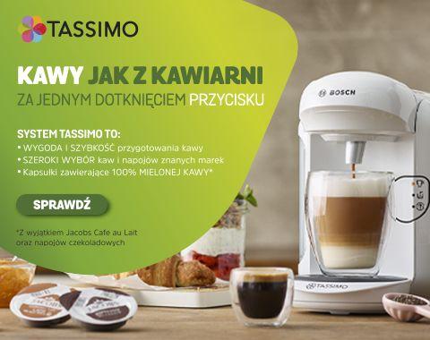 Tassimo Bosch vivy2 wraz z kawami