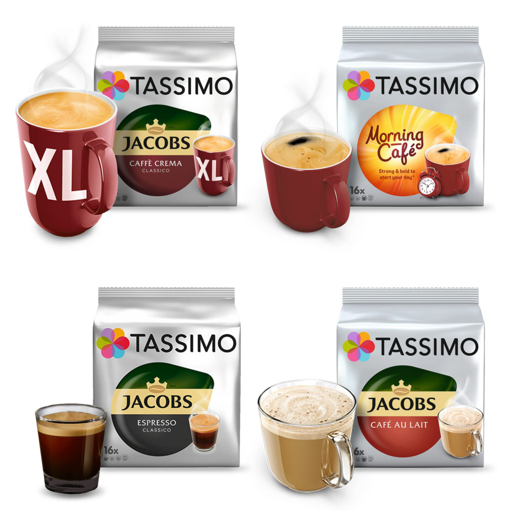 Tassimo morning cafe, crema xl