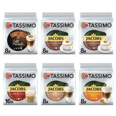 Zestaw Tassimo Kaw białych Baileys i Jacobs