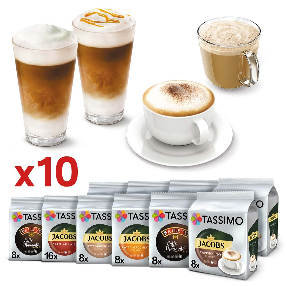 Zestaw 10x kaw Tassimo
