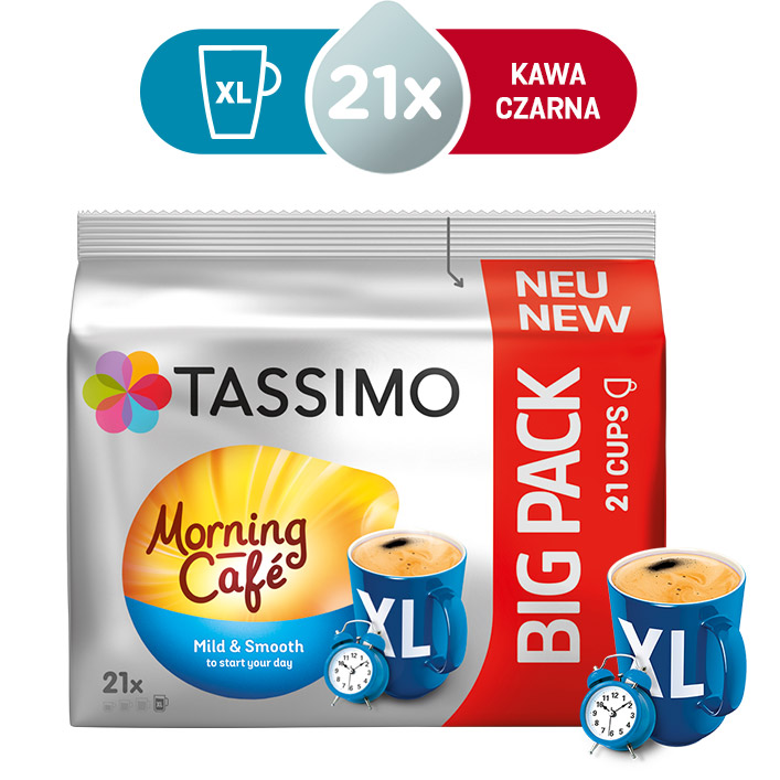 Jacobs Tassimo Morning Cafe Big Pack